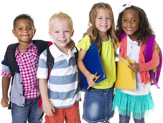 Children at Little Plums Nursery Rotherham